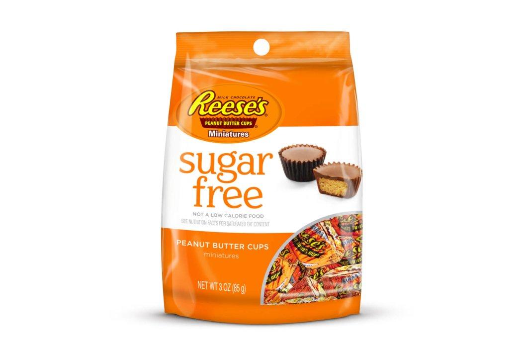 Reese pieces sugar free packaging