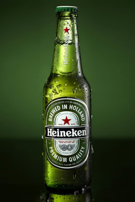 Cold Heineken beer
