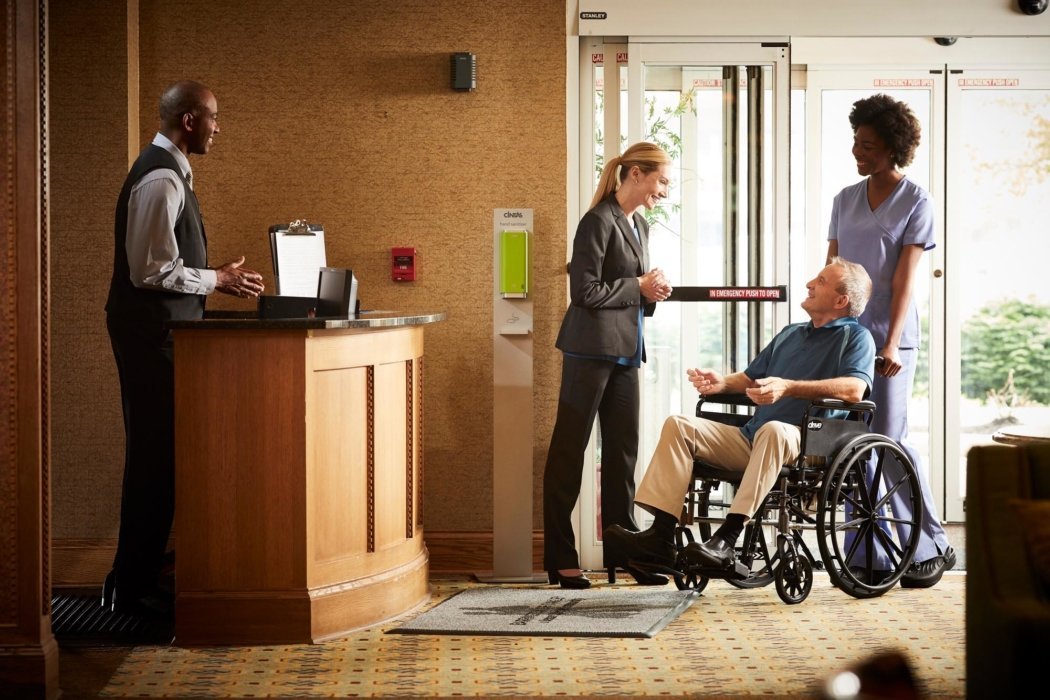 People at nursing home - lifestyle photography