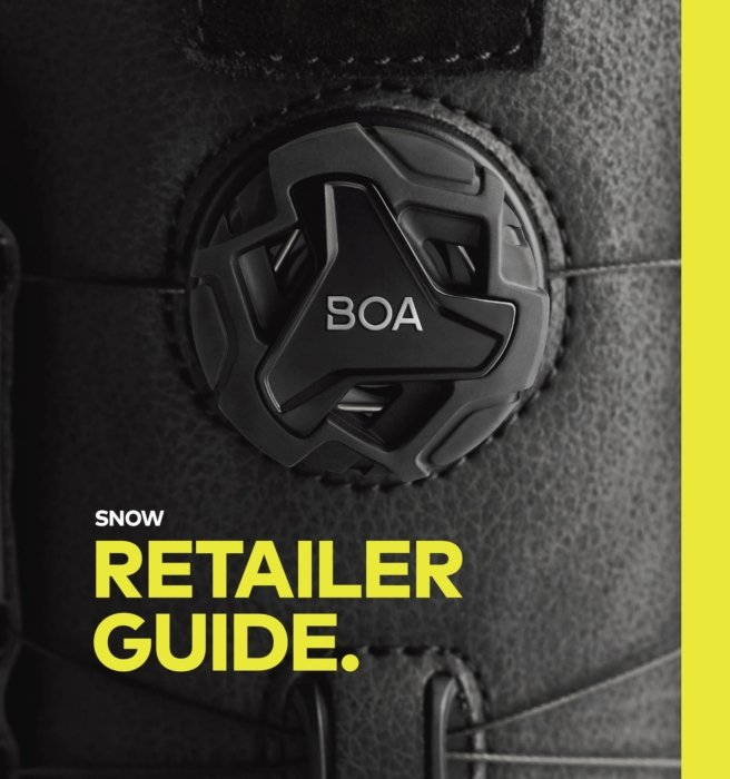 Advertising Photography - BOA system featured in a magazine layout