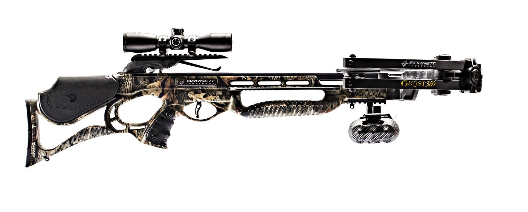 A product shot of a Barnett crossbow