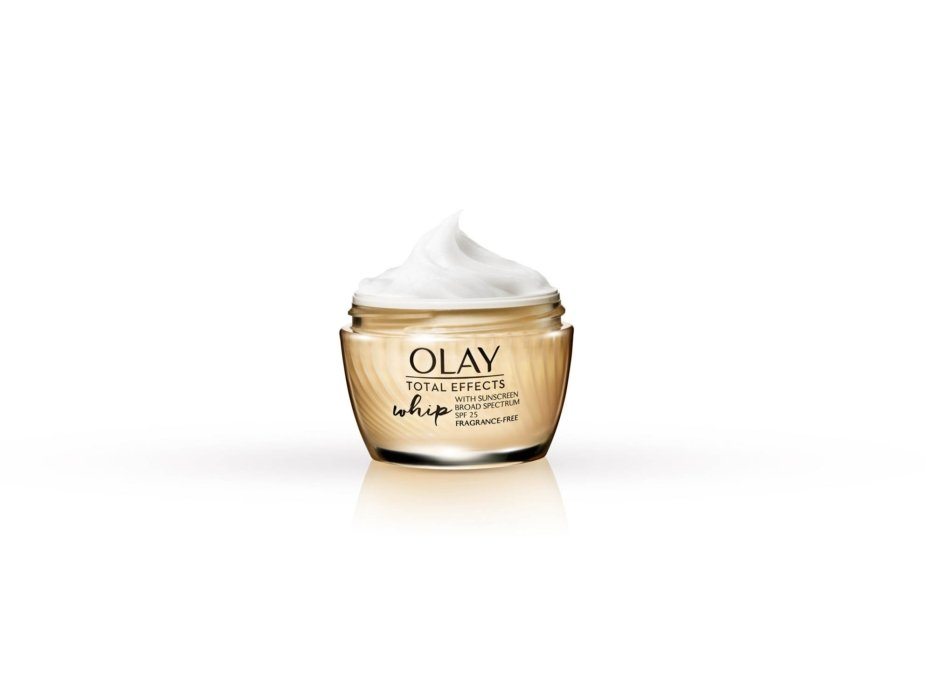 A single Olay whip with total effects