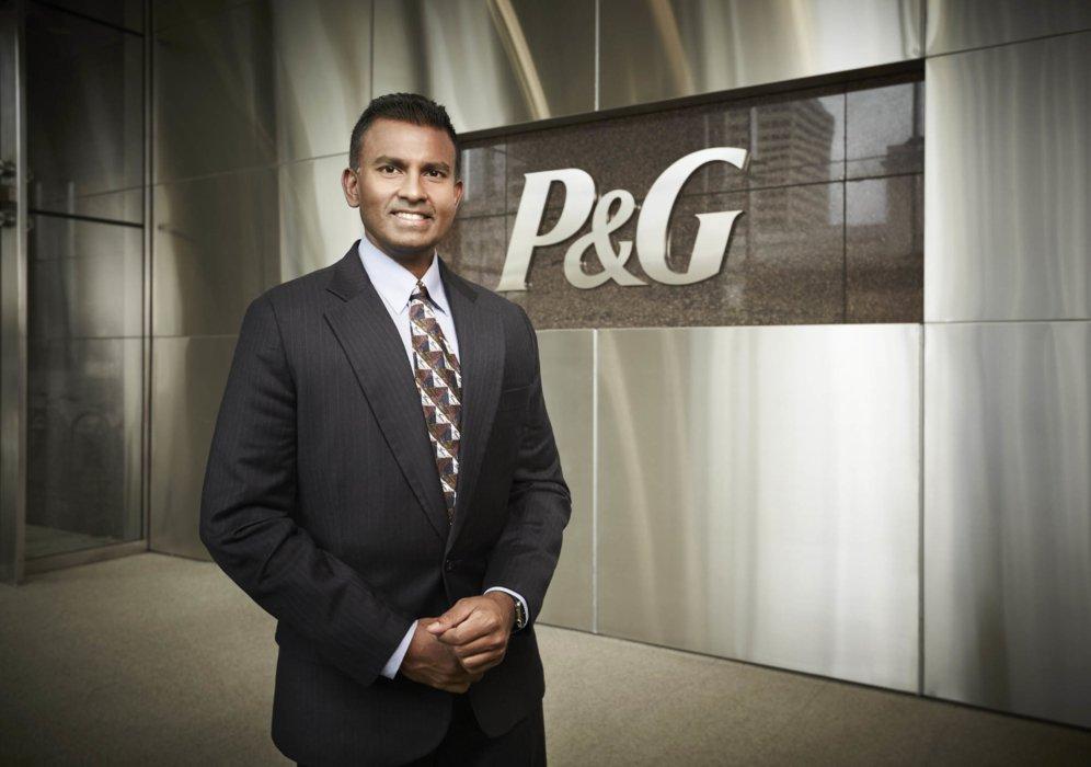 Professional Portrait of a P&G Executive