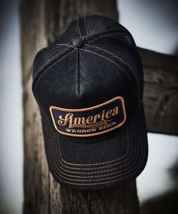 "Rural cloth hat ""America"