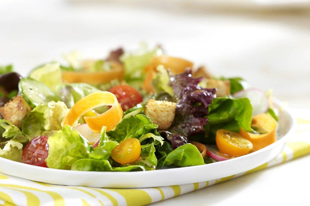 a garden fresh salad