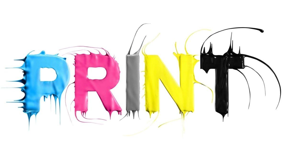 Shot and composited Print Splash