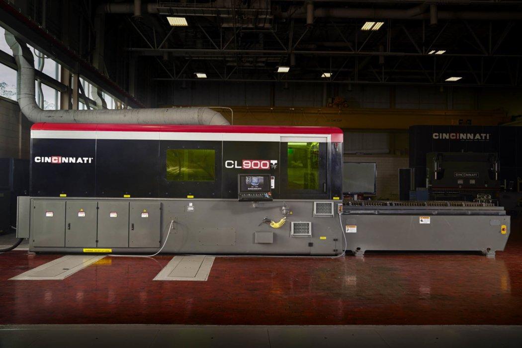 Cincinnati Capital equipment - Industrial equipment photography