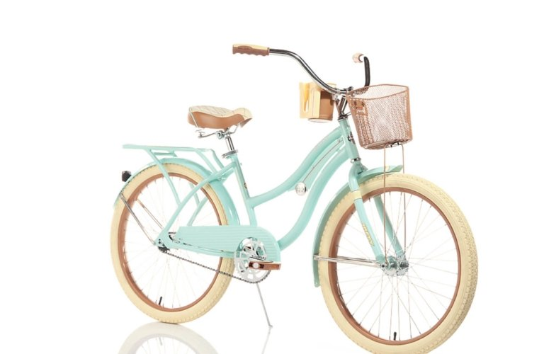 ecommerce image of a cruiser girls bike