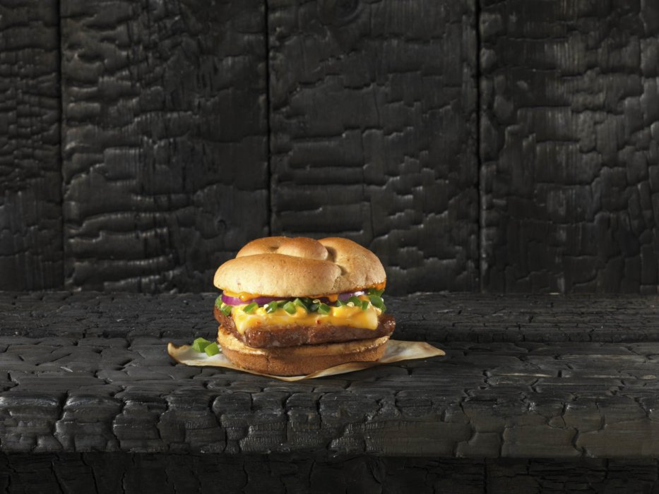 Quarter pounder cheeseburger