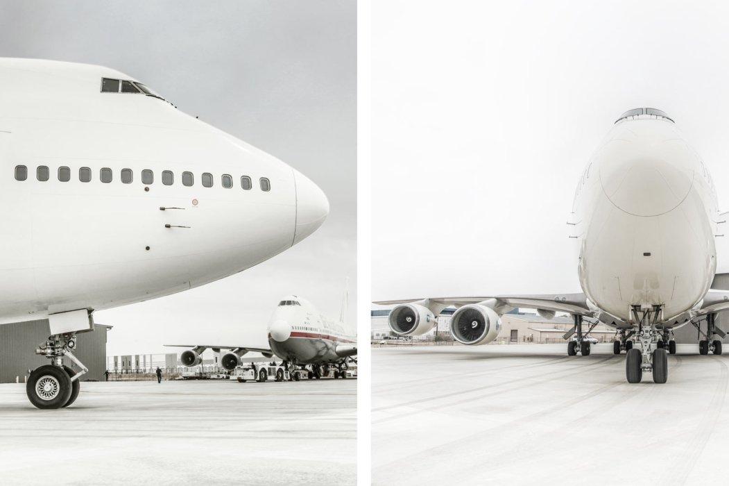 Industrial built planes