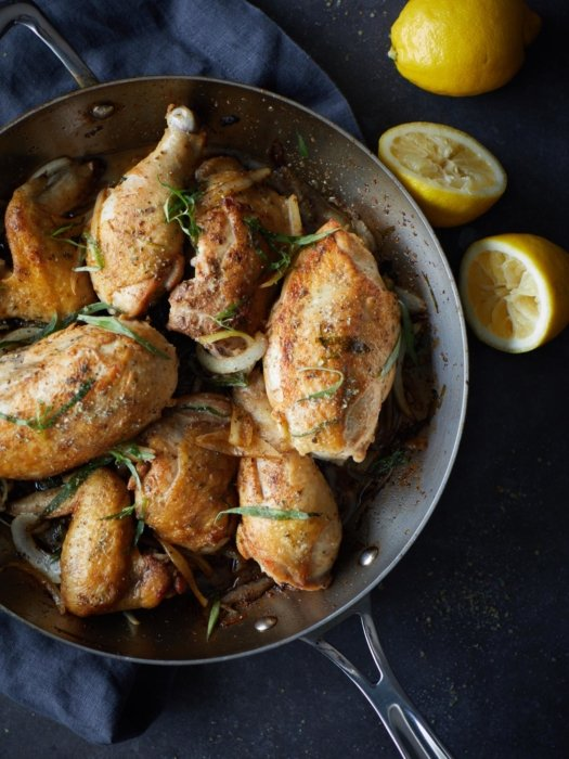 Lemon herbed chicken