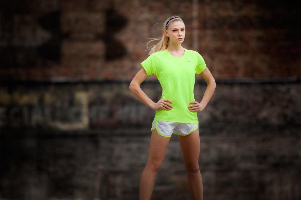 Monty Milburn Athlete Photo of girl