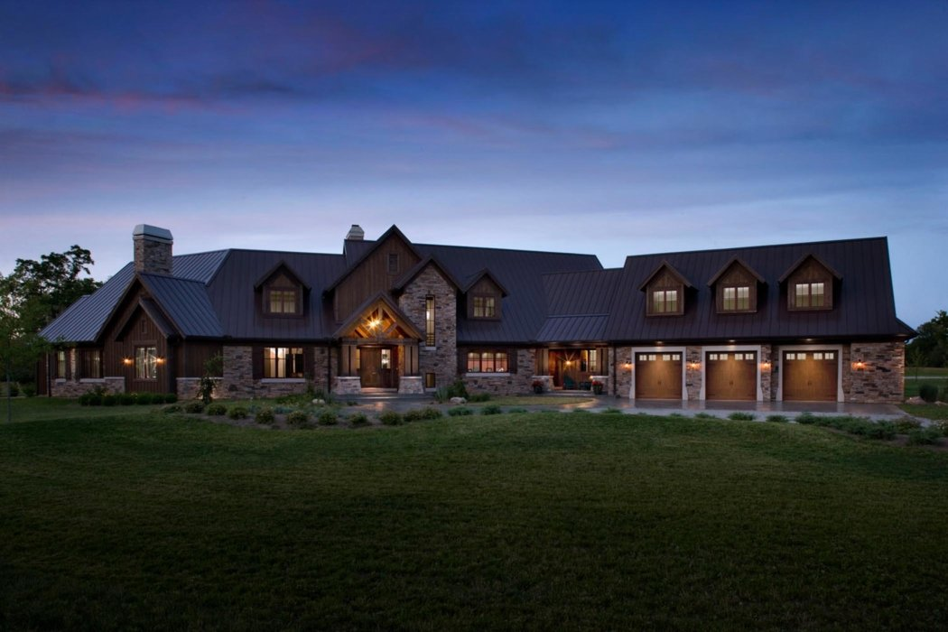 Exterior of a large home