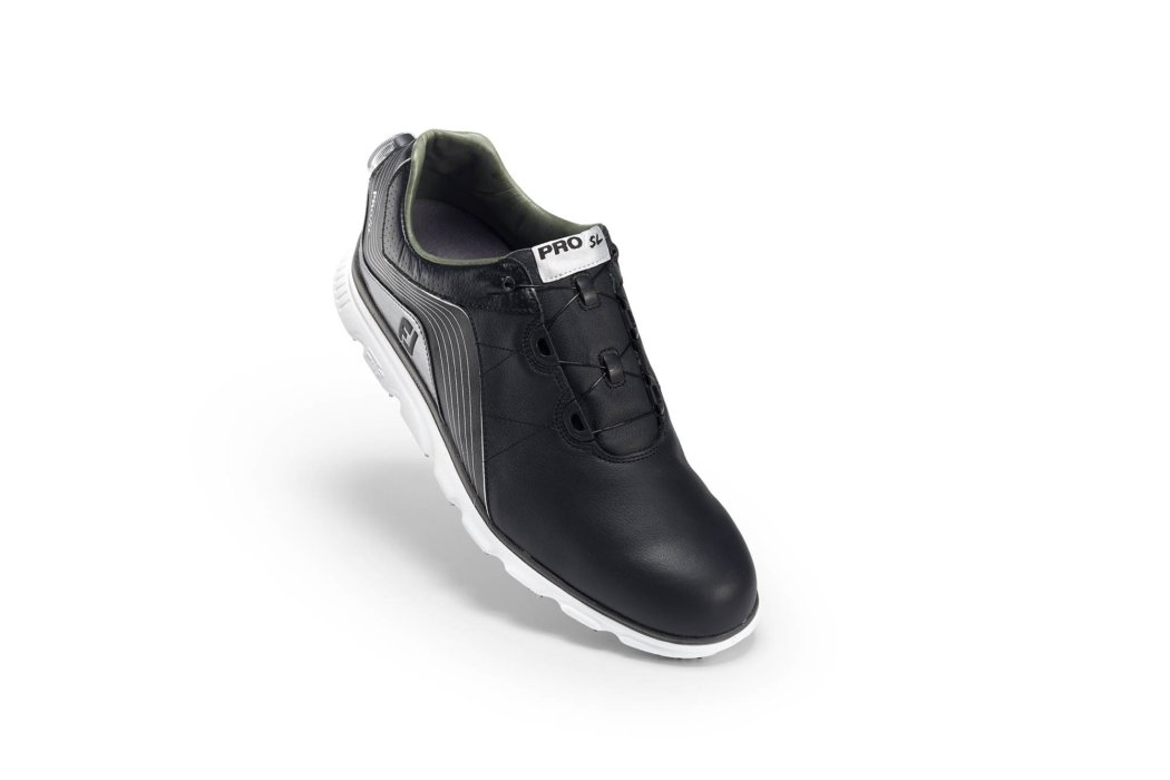 black elevated BOA shoe for ecommerce