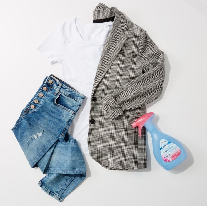 Clothes and Fabreeze