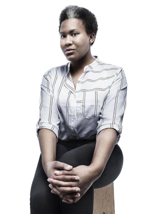 A corporate woman's portrait