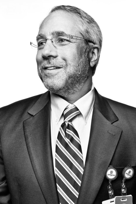 A corporate man in a suit portrait