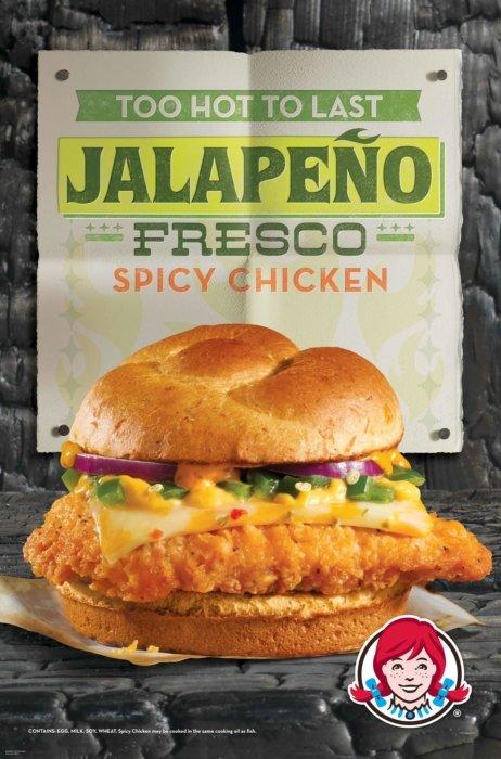 Jalapeno fresco spicy chicken