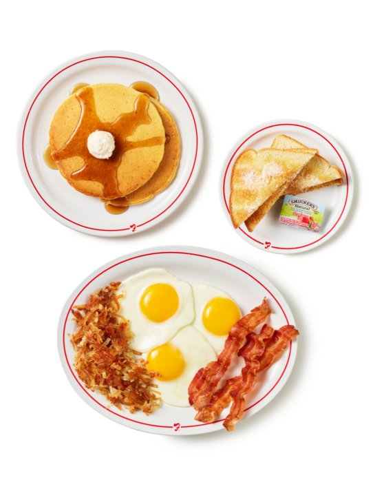 Frisch's Breakfast Menu Items - Food Photograph