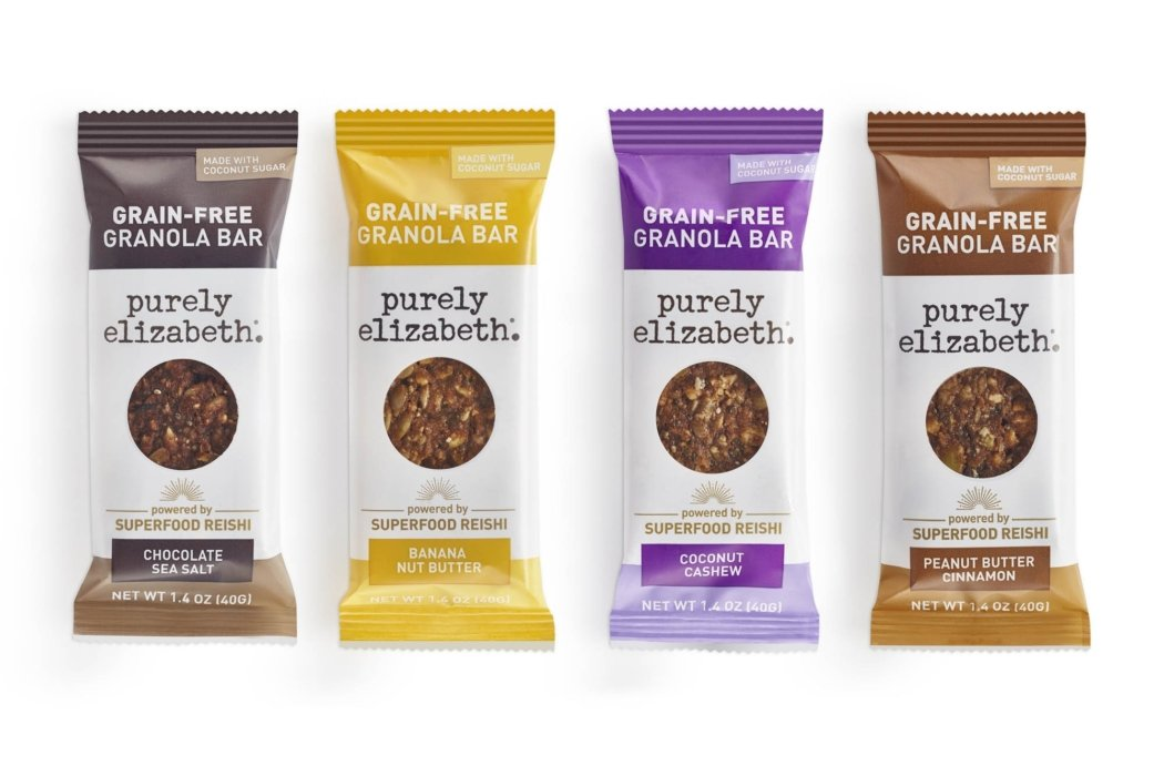 Product photo - Purely elizabeth granola bar family