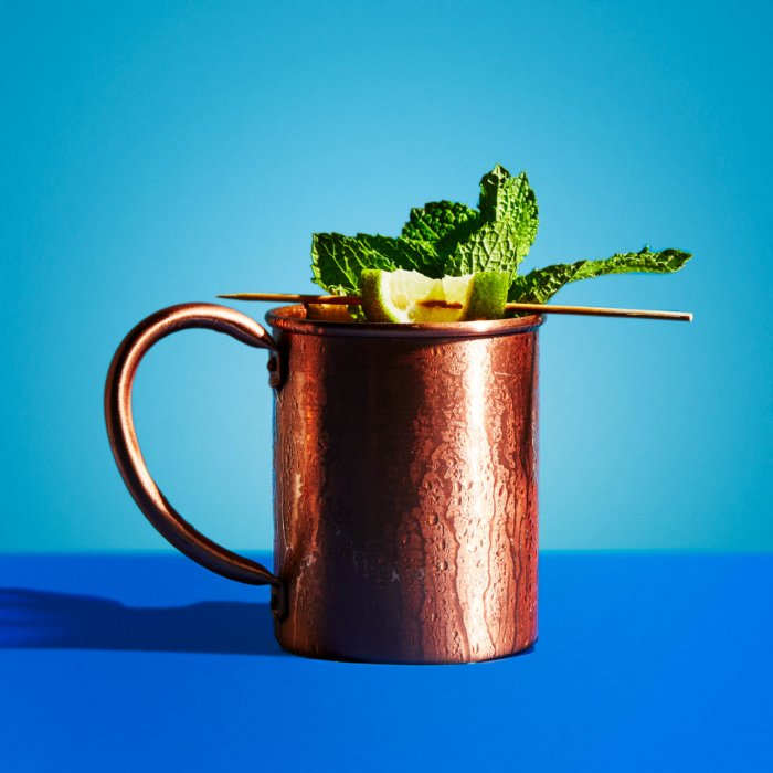 Moscow Mule - Drink Photography - Modern - blue