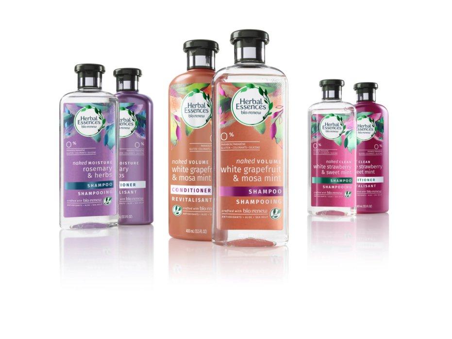 Retouching bottles for herbal essences Bio Renew - Product Retouching
