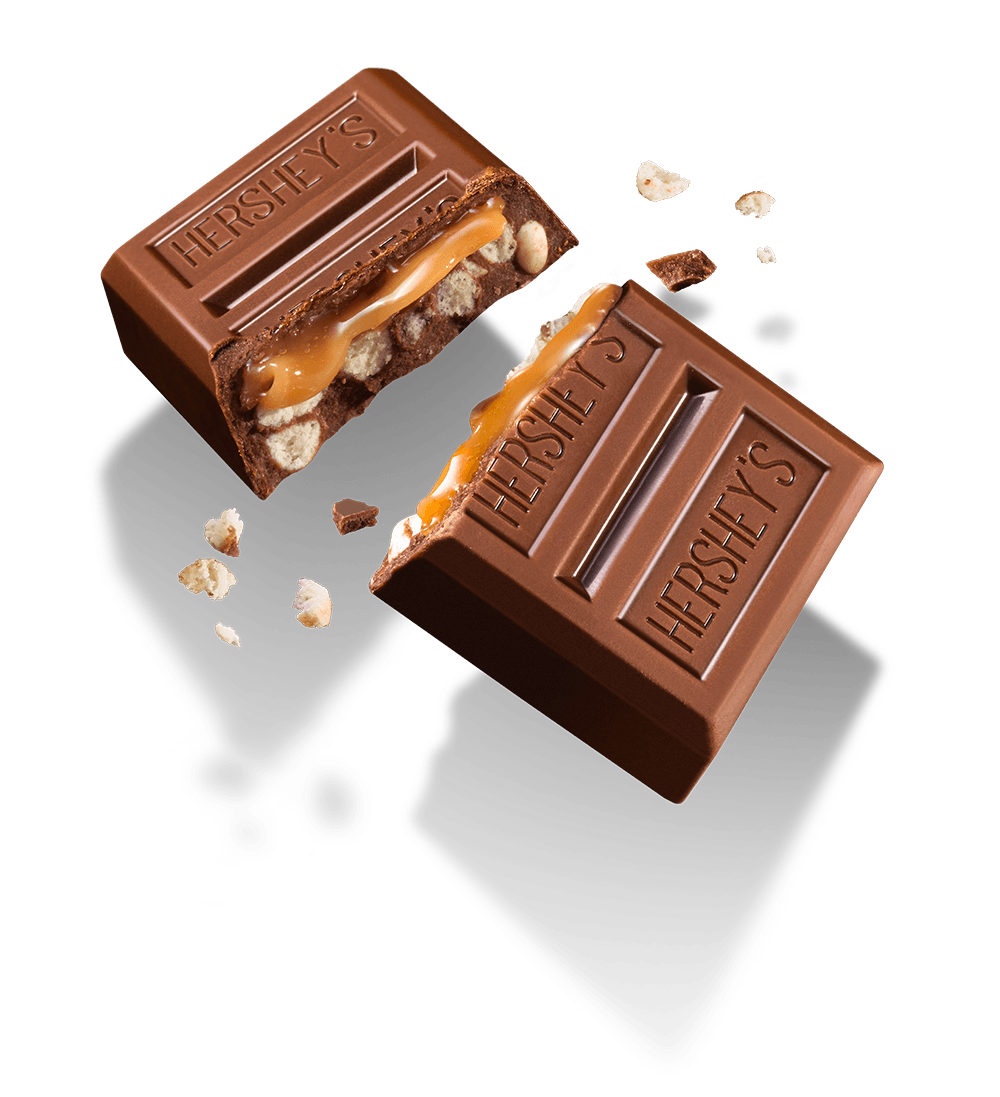 Transparent Hershey's Layer Crunch Caramel