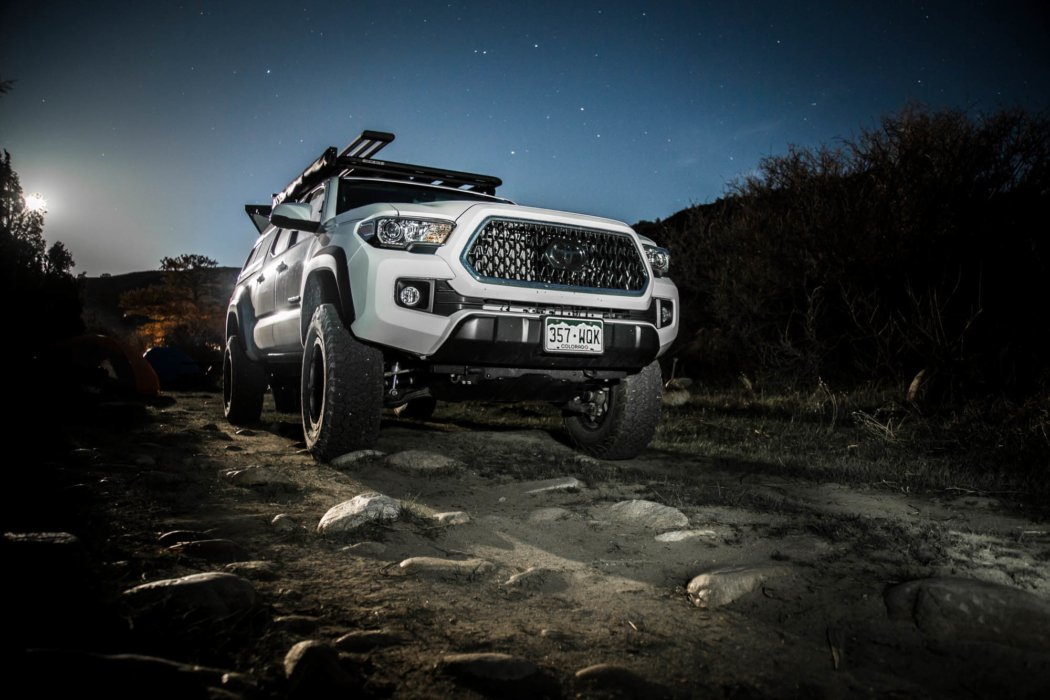 Rugged camping truck