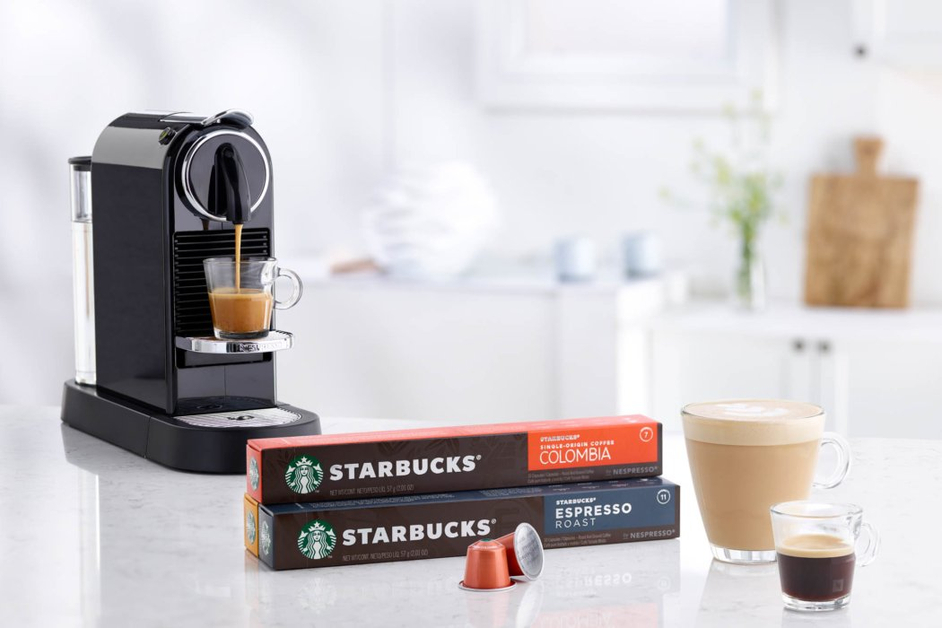 Nespresso starbucks coffee products