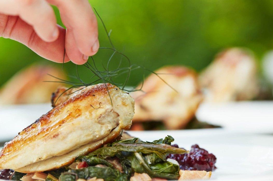 fresh food styling