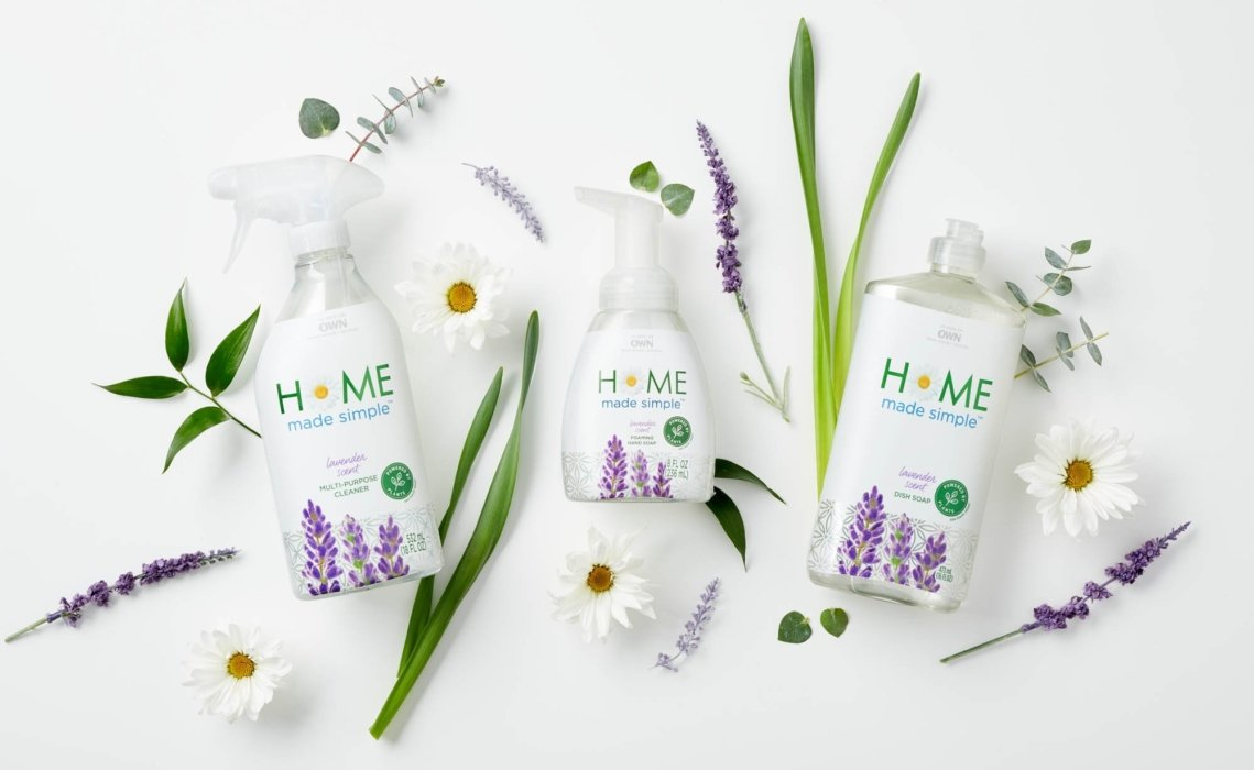 A group of bottles for home made simple - product photography