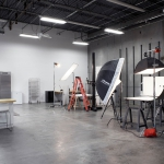 An active photo shooting studio - OMS Photo's Golden Colorado photo studio