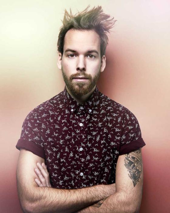 Portrait of Evan Sgouris - color - OMS Photo Photographer