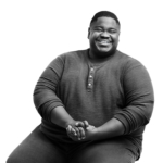 Black and White Portrait of Shon Curtis - Photographer